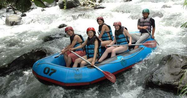 Bali International Rafting Sungai Telaga Waja