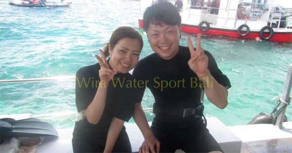 Persiapan Tanjung Benoa Dive Walker