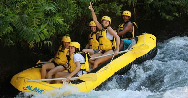 Alam Rafting Bali Telaga Waja Karangasem