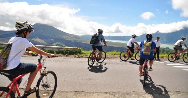 Lokasi Start Point Wisata Sepeda Kintamani