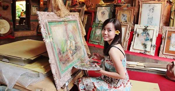Mengunjungi Museum Di Ubud