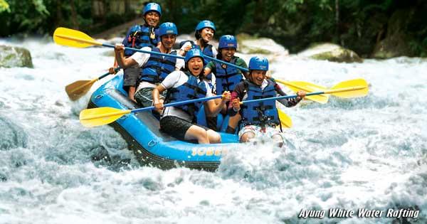 Rafting Di Sungai Ayung Ubud