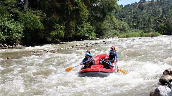 Rafting Sungai Alas Aceh