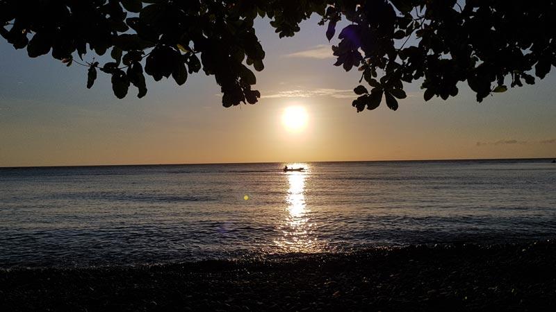 Sunrise Pantai Tulamben Bali