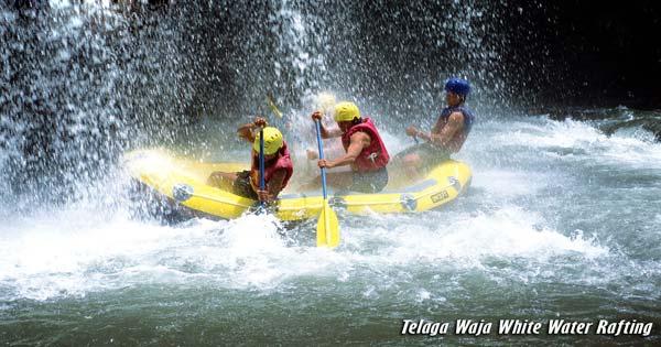 Telaga Waja Rafting Karangasem