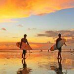 objek wisata pantai kuta bali
