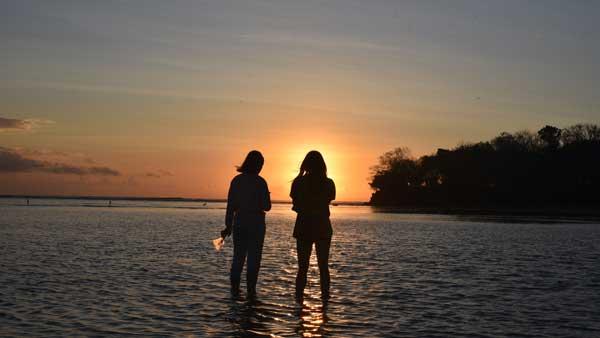 Sunrise Pantai Geger Nusa Dua