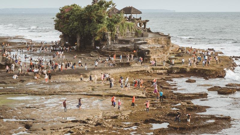 Area Pantai Tanah Lot Bali