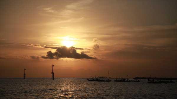 Pantai Kedonganan Sunset