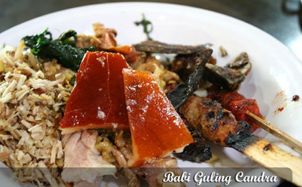menu babi guling chandra denpasar