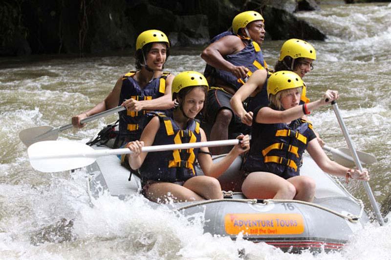 Mason Ayung Rafting Adventure