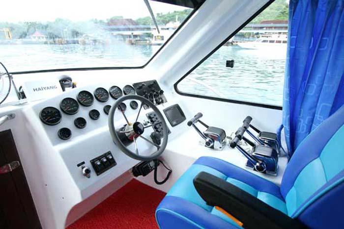 captain seat wahana gili ocean
