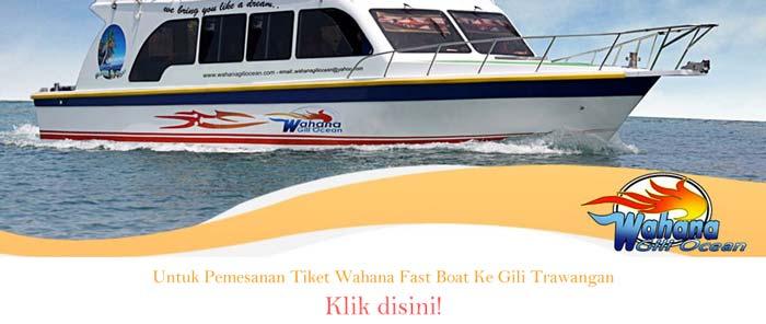 pemesanan wahana fast boat