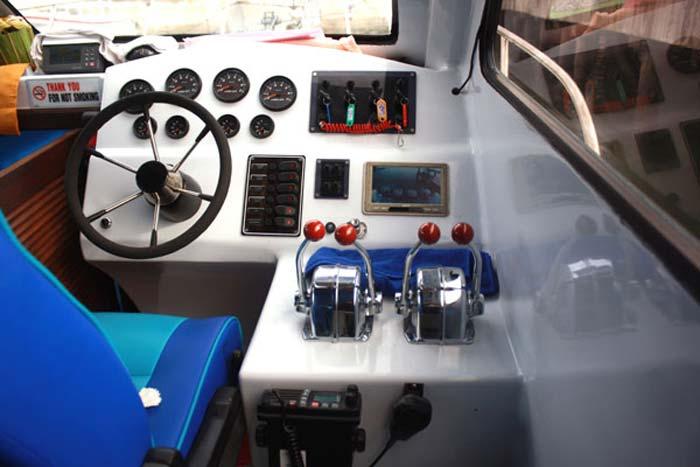 wahana fast boat control room