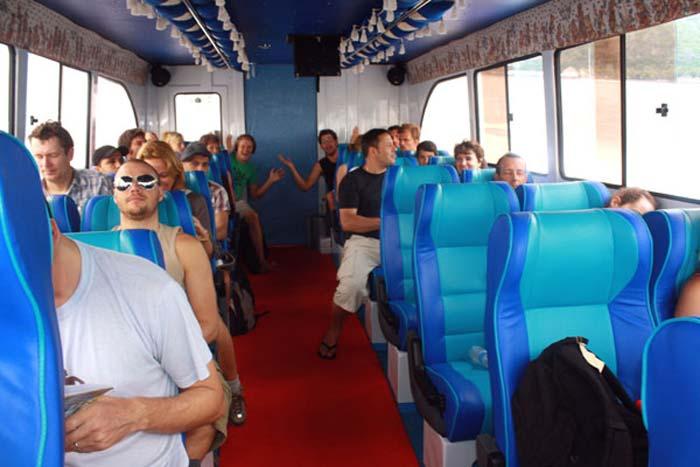 wahana fast boat interior
