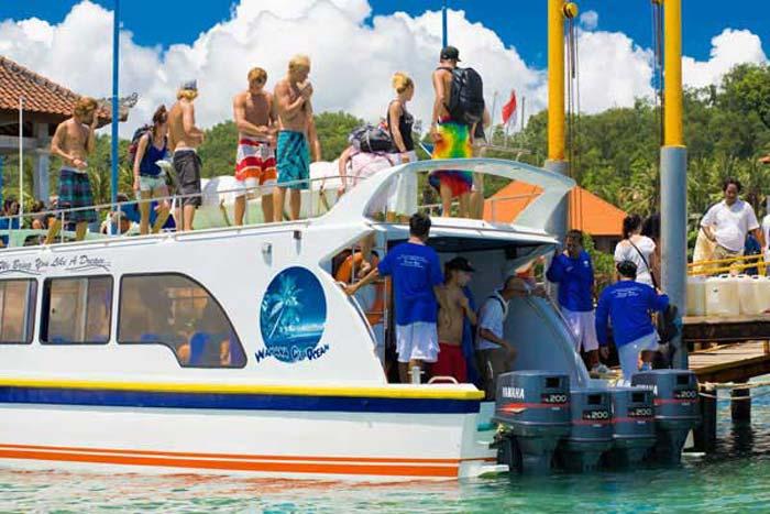 wahana fast boat load bali