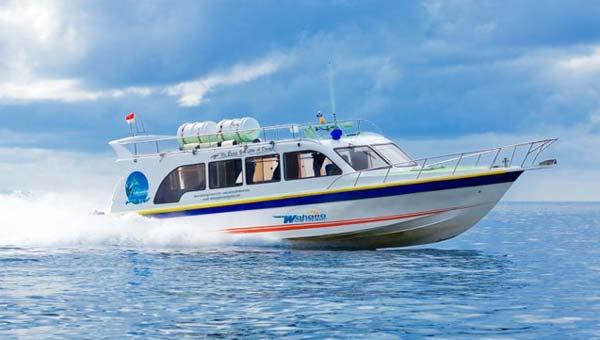 Fast Boat Ke Gili
