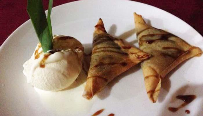 Chocolate Samosa Warung Padang Kecag