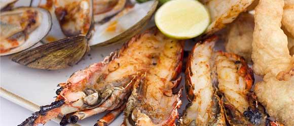 seafood plater tanjung benoa restoran bali cardamon