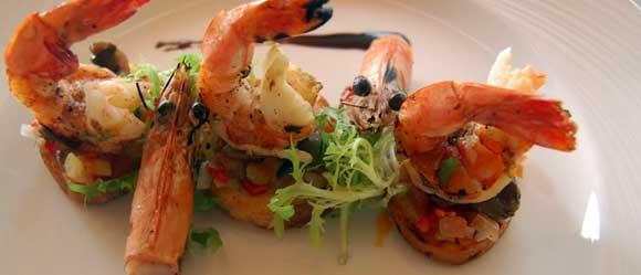 Menu Bali Luna Restaurant