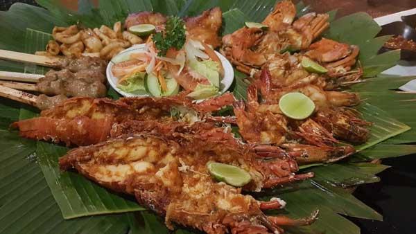 Menu Makanan Luna Bonita Restaurant Bali