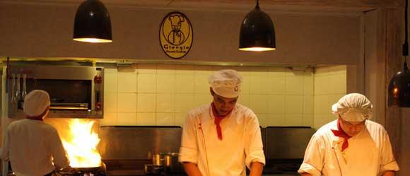 Chef Restoran Giorgio Tanjung Benoa Bali