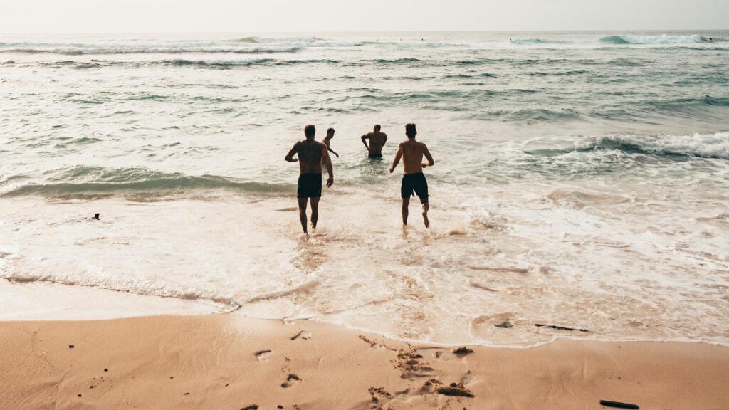 Pemandangan Pantai Suluban Uluwatu