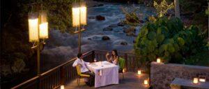Romantic Dinner Restoran Swept Away Ubud