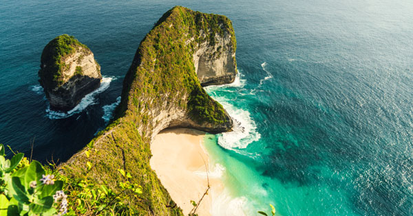Bukit T-Rex Pantai Kelingking Nusa Penida Bali