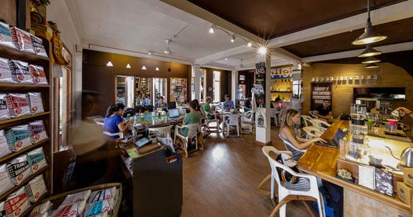 Seniman Coffee Interior Ubud Bali