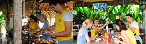 Buffet Lunch Restoran Alam De Ubud