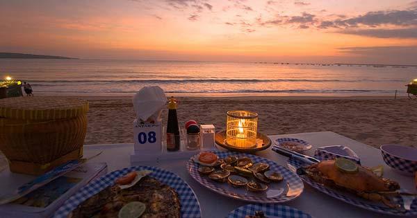 Sunset Pantai Jimbaran