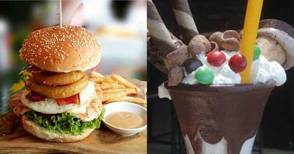 Menu Unik Wacko Burger Cafe Seminyak