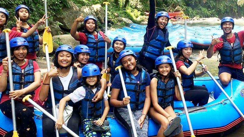 5 Tips Aktivitas Rafting Bali Dengan Anak