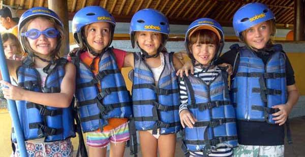 Sungai Terbaik Aktivitas Rafting Untuk Anak-Anak Di Bali