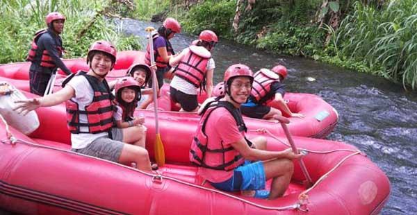 Wisata Bali Rafting Bersama Keluarga