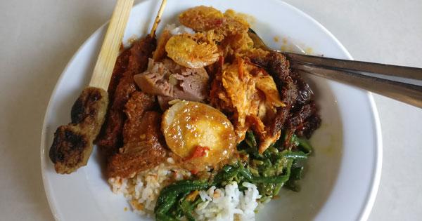 Nasi Campur Warung Wardani Tuban Kuta