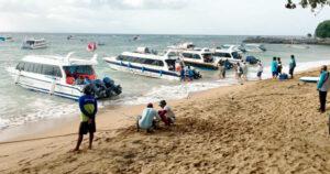 Pantai Sanur Lokasi Penyeberangan Di Bali Ke Nusa Lembongan