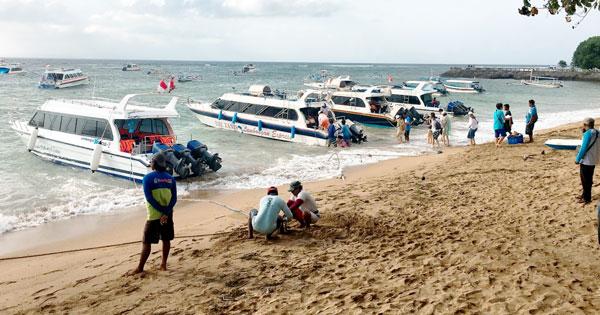 Pantai Sanur Lokasi Penyeberangan Di Bali Ke Nusa Lembongan & Nusa Penida