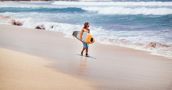 Legian Pantai Pasir Putih Bersih