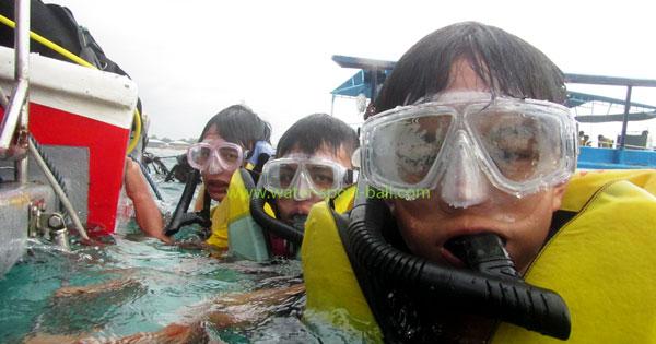 Tanjung Benoa Favorit Peserta Snorkeling Pemula