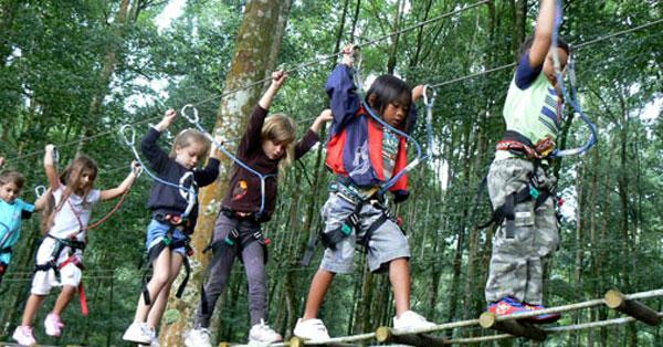 Treetop Adventure Park Bedugul - 10 Kegiatan Liburan Anak Terpopuler Di Bali