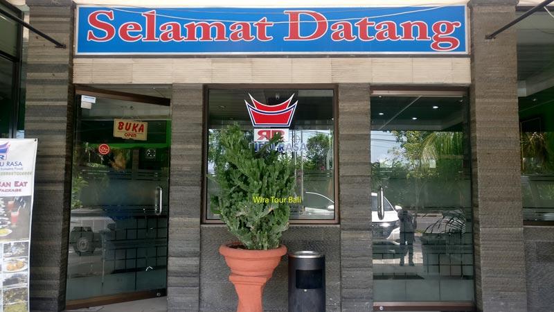 Rumah Makan Padang Rindu Rasa Tanjung Benoa