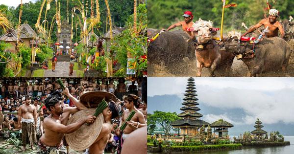 10 Hal Unik Yang Hanya Ada Di Bali
