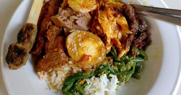 Nasi Campur Warung Wardani Denpasar