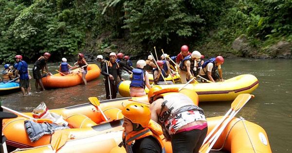 Rafting Di Sungai Ayung Ubud Bali