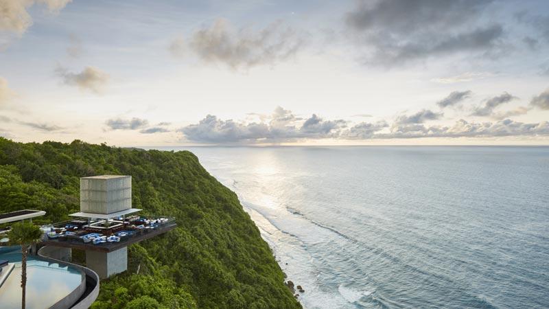 Pemandangan Samudra Hindia Dari Omnia Bali Uluwatu