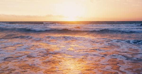 Sunset Petitenget Beach Bali