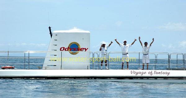 Aktivitas Seperti Apa Odyssey Submarine Tour