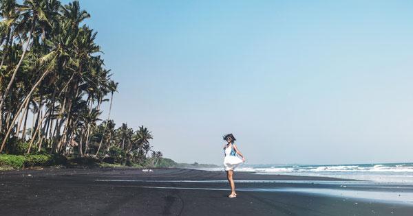 Lokasi Balian Beach Tabanan Bali
